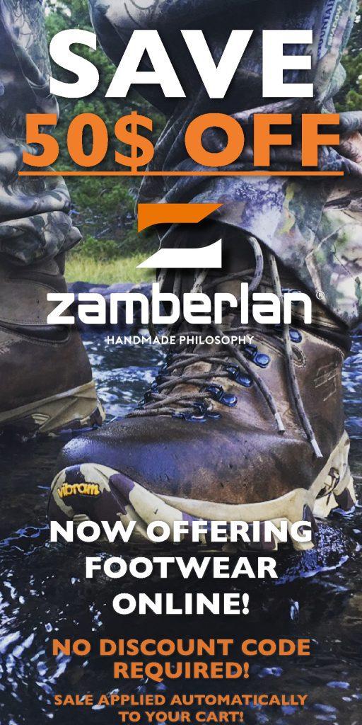 Zamberlan Online 50 Dollar Discount