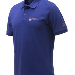 Beretta Broken Clay Polo Blue MP033T13540560 FRONT