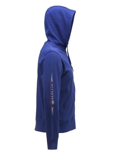 Beretta Broken Clay Sweater Blue FU033T10980560 CLOSEUP1