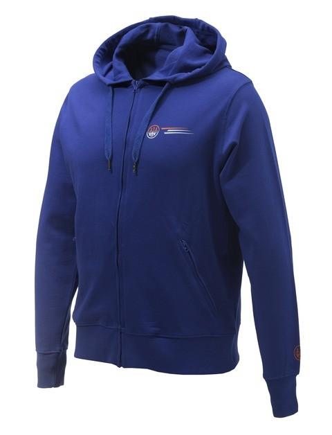 Beretta Broken Clay Sweater Blue FU033T10980560 FRONT