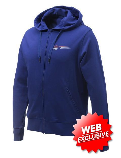 Beretta Broken Clay Sweater Blue FU033T10980560 Web