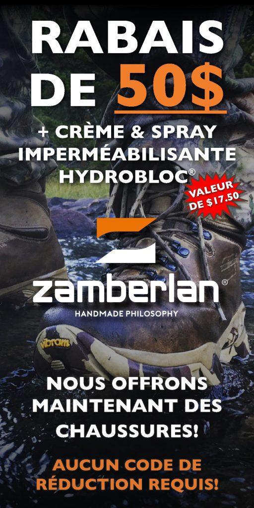 Zamberlan Online 50 Dollar Discount + Hydrobloc FR