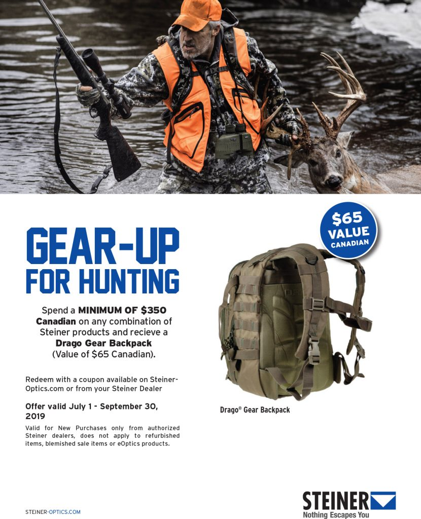 2019 Gear Up For Hunting Promo Flyer Canada