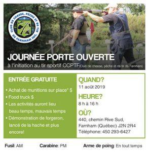 Club De Tir De Farnham 2019 Quebec Range Day