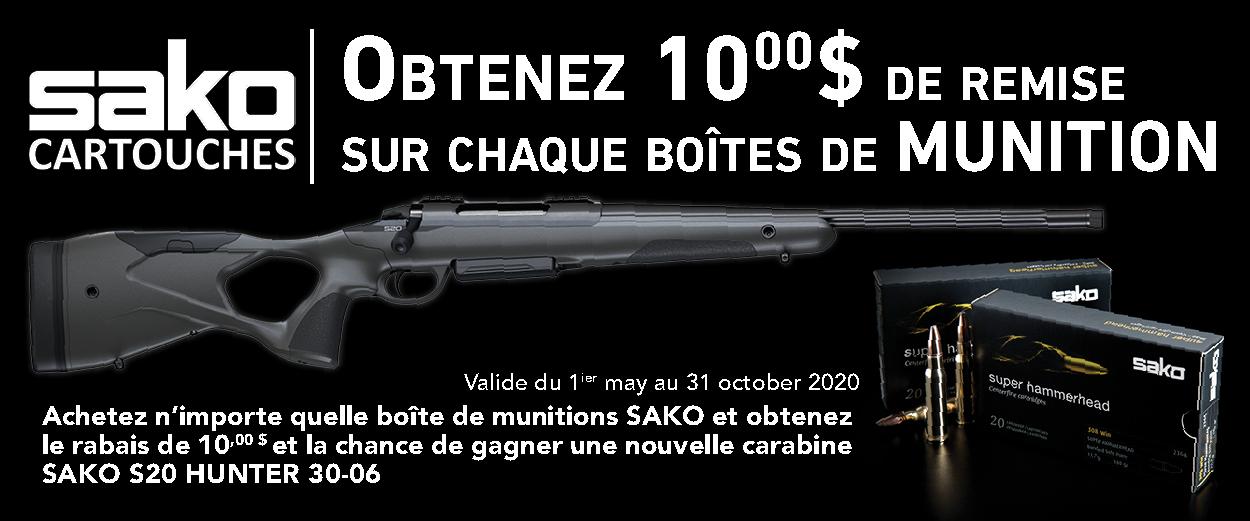 Sako Ammo Promotion Web Banner 2020 FR