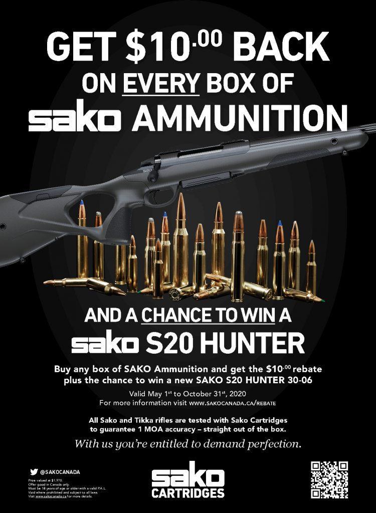 Sako Ammunition Promotional Poster 2020