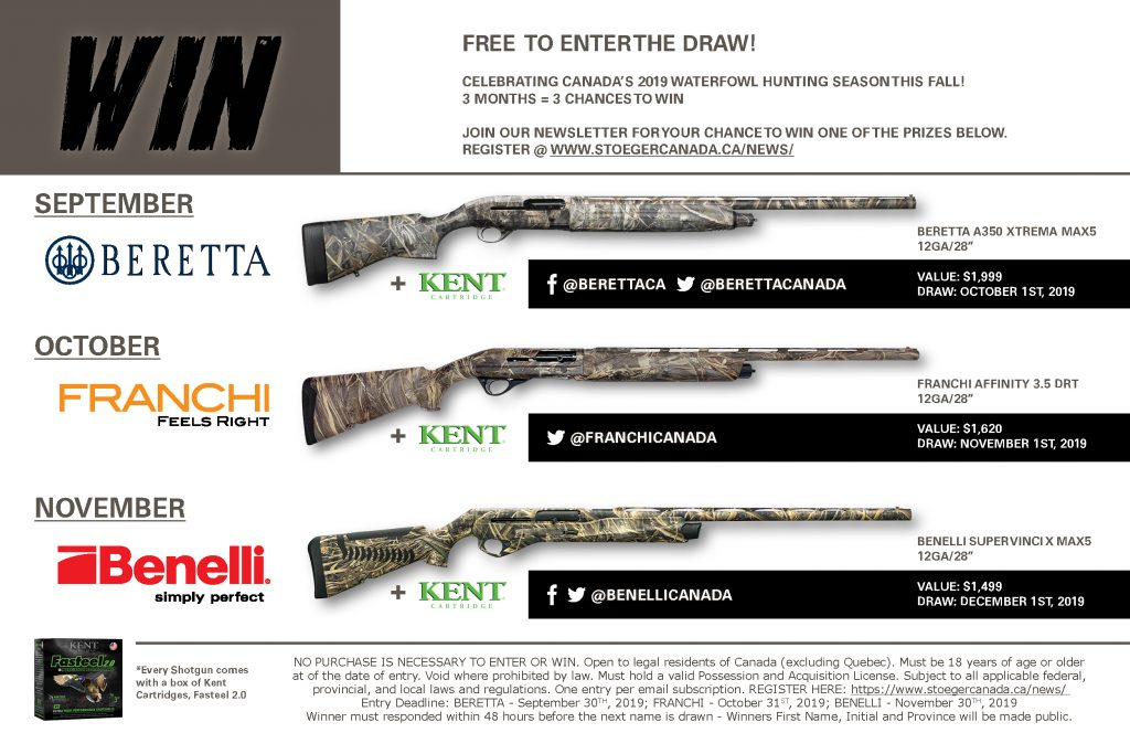 WATERFOWL 2019 Newsletter Draw Poster