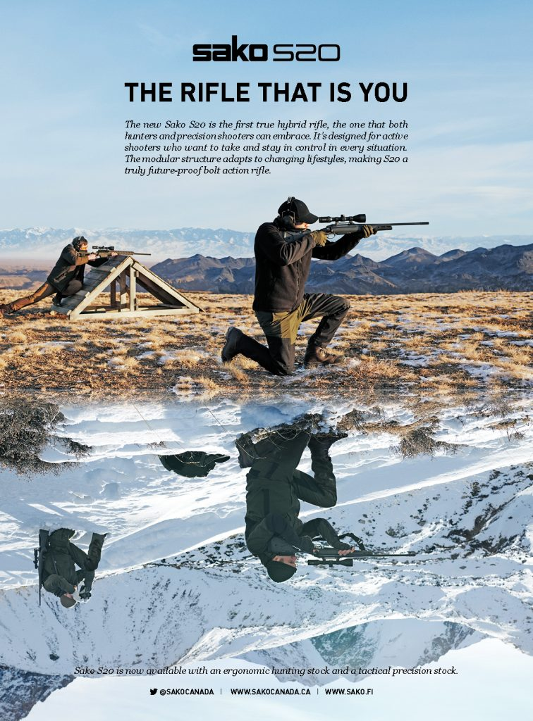 Sako S20 Poster Canada