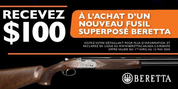 Beretta 100 Off OU Promotion 2020 Banner 300x600 FR