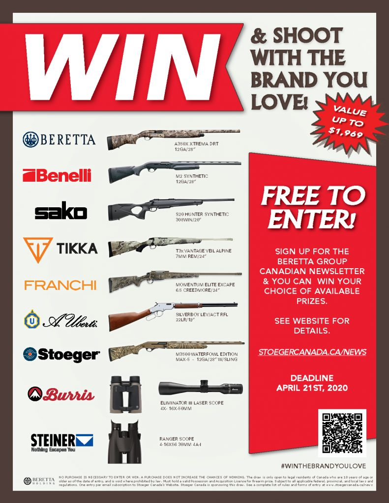 Firearms Draw Win The Brand You Love 2020