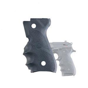 E00002 BERETTA 92 And 96 SERIES Rubber GRIPS On Handgun