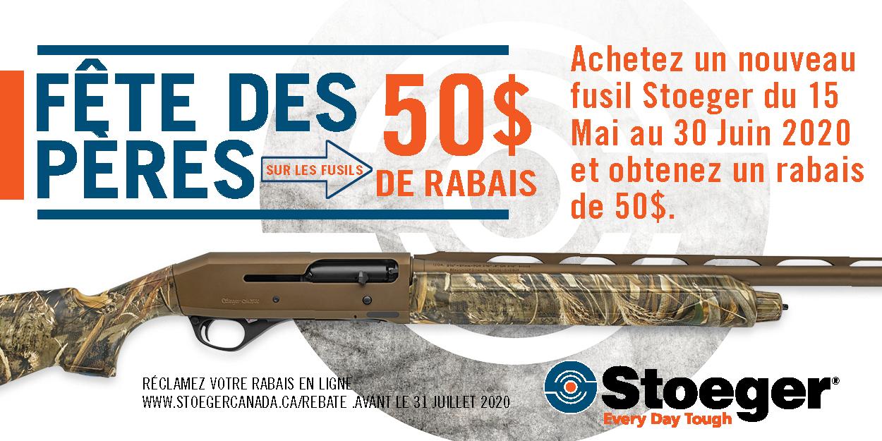 Stoeger 50 Rebate Banner