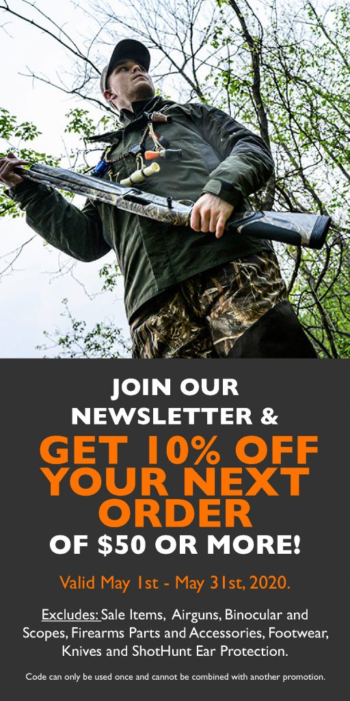 Beretta Canada Newsletter May 10 Off