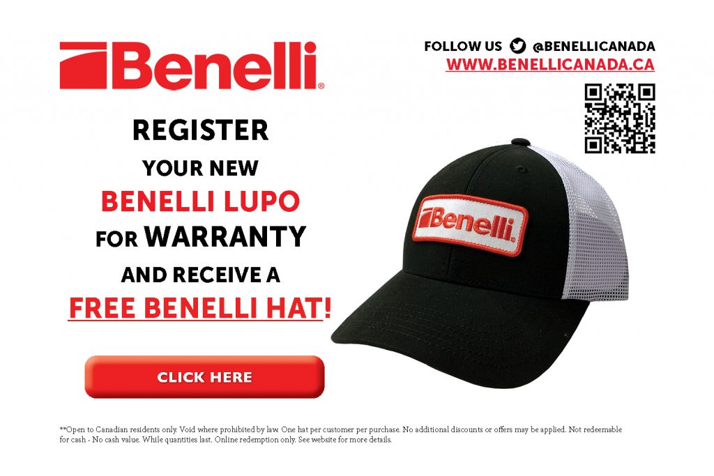 Benelli Lupo Free Hat Promotion Sticker