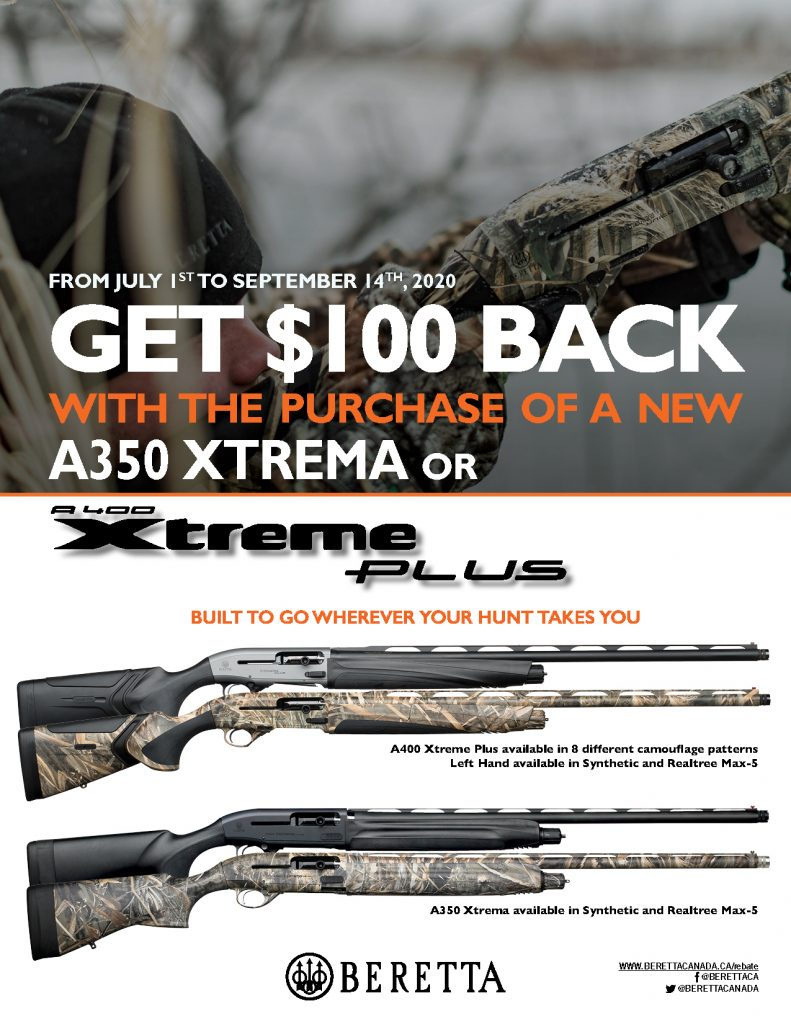 Beretta 100 Off A400XP Promotion 2020 Poster