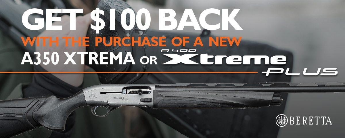 Beretta A4400XP 100 Rebate 2020 1200x480 A400XP Synthetic