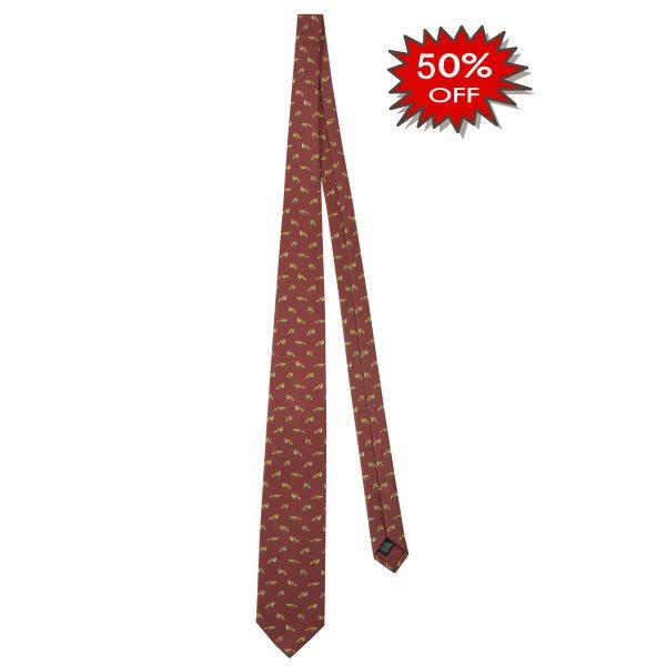 CR121T13790348UNI Beretta Fox Tie Red Online Sale