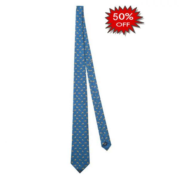 CR121T13790588UNI Beretta Fox Tie Blue Online Sale