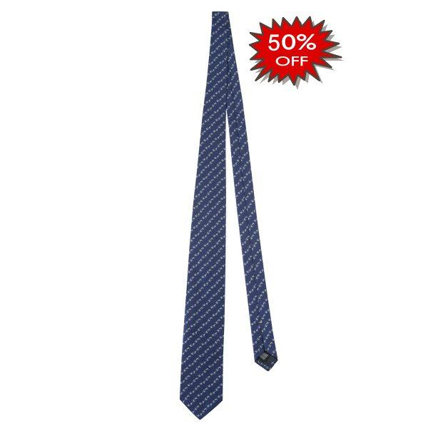 CR131T13810594UNI Beretta Jacquard Tie Blue Online Sale