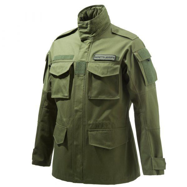 GU203T14140804 Beretta Broom Military Field JAcket Brown Tan