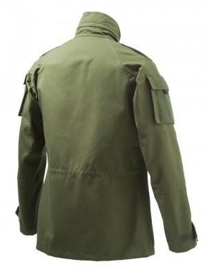 Broom Military Tan Back