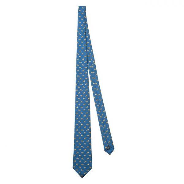 Fox Tie Blue 1