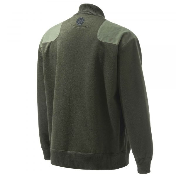 Honor Full Zip Green Back