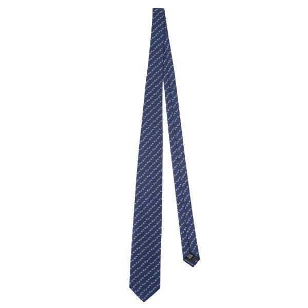 Jacquard Tie Blue