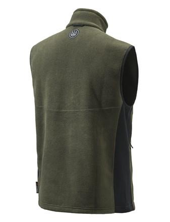 Smartech Fleece Vest Green Side