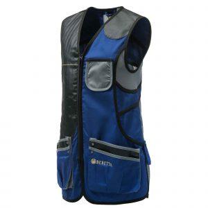 Womans Sp Vest Blue & Grey GT023T1553059J