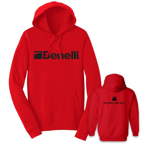 BENHOOD038 Benelli Sweater Red