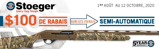 Stoeger SA 100 Rebate Banner FR