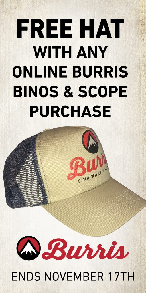 Burris Free Hat 2020 Promotion Widget
