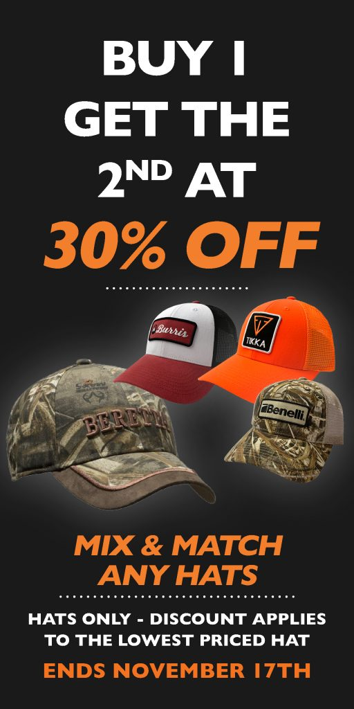 Hat Buy One Get One 30off Widget