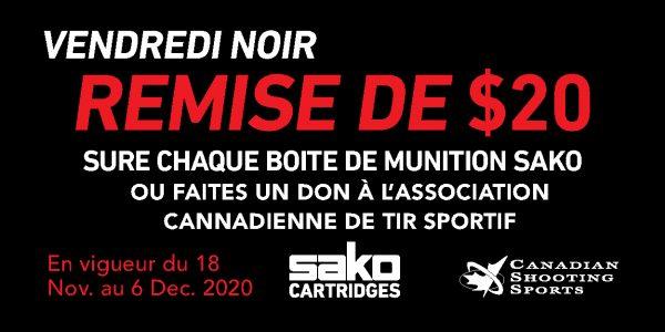 Sako Ammo Black Friday Promotion Web Banner 300x150px FR