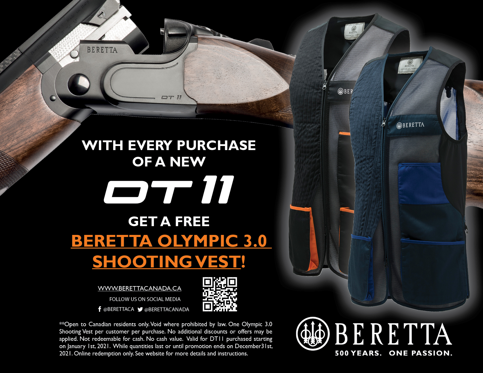Beretta DT11 Promotion Poster
