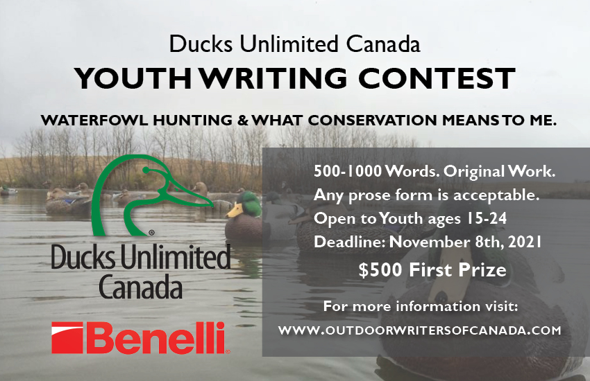 Ducks Unlimited Youth Writing Contest 2021 Benelli Canada
