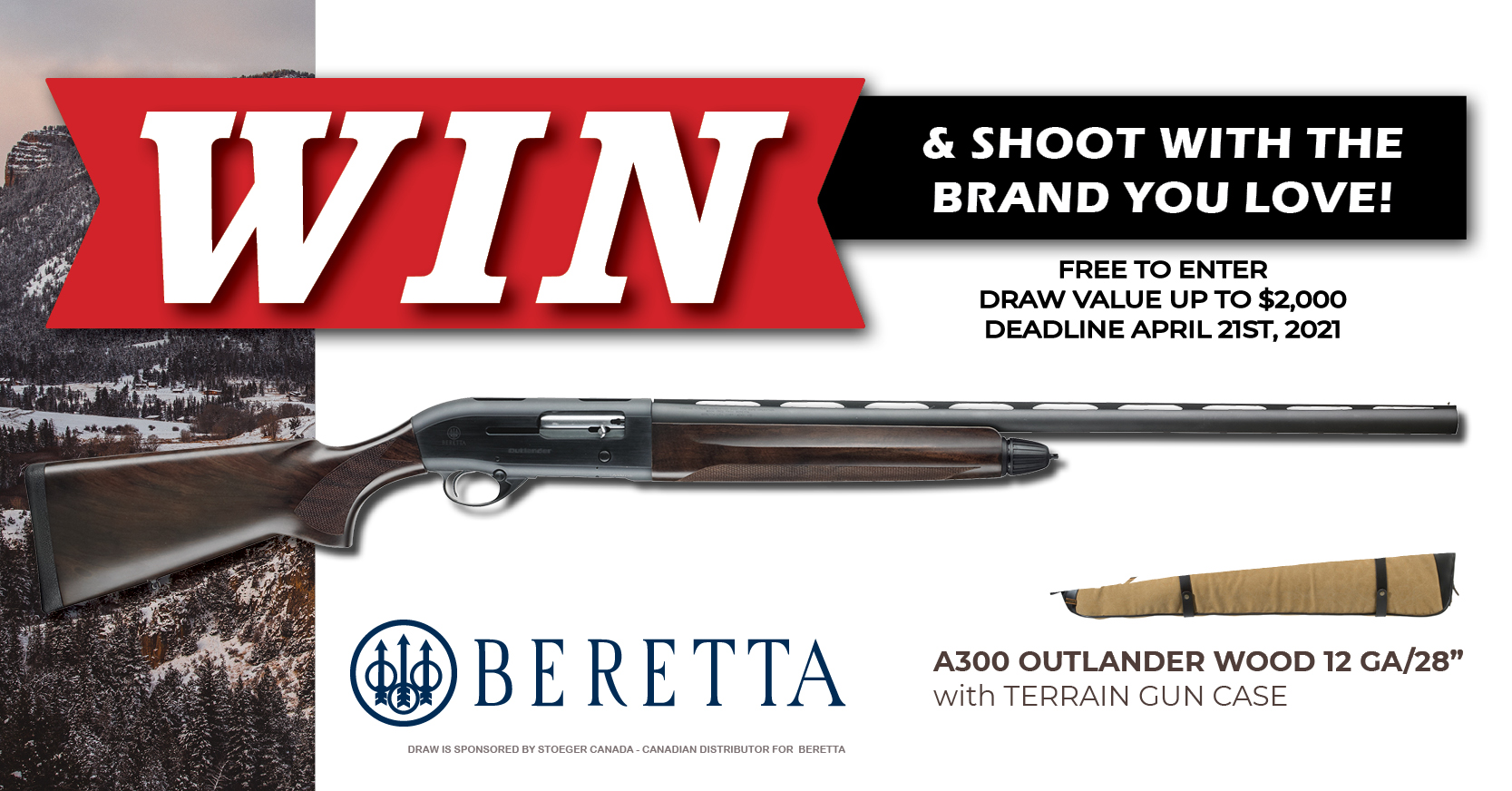 Firearm Draw 2021 Beretta Facebook