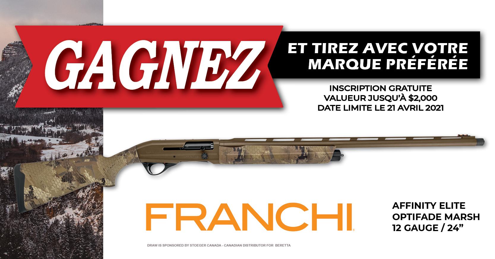 firearm draw 2021 FRANCHI Facebook - fr