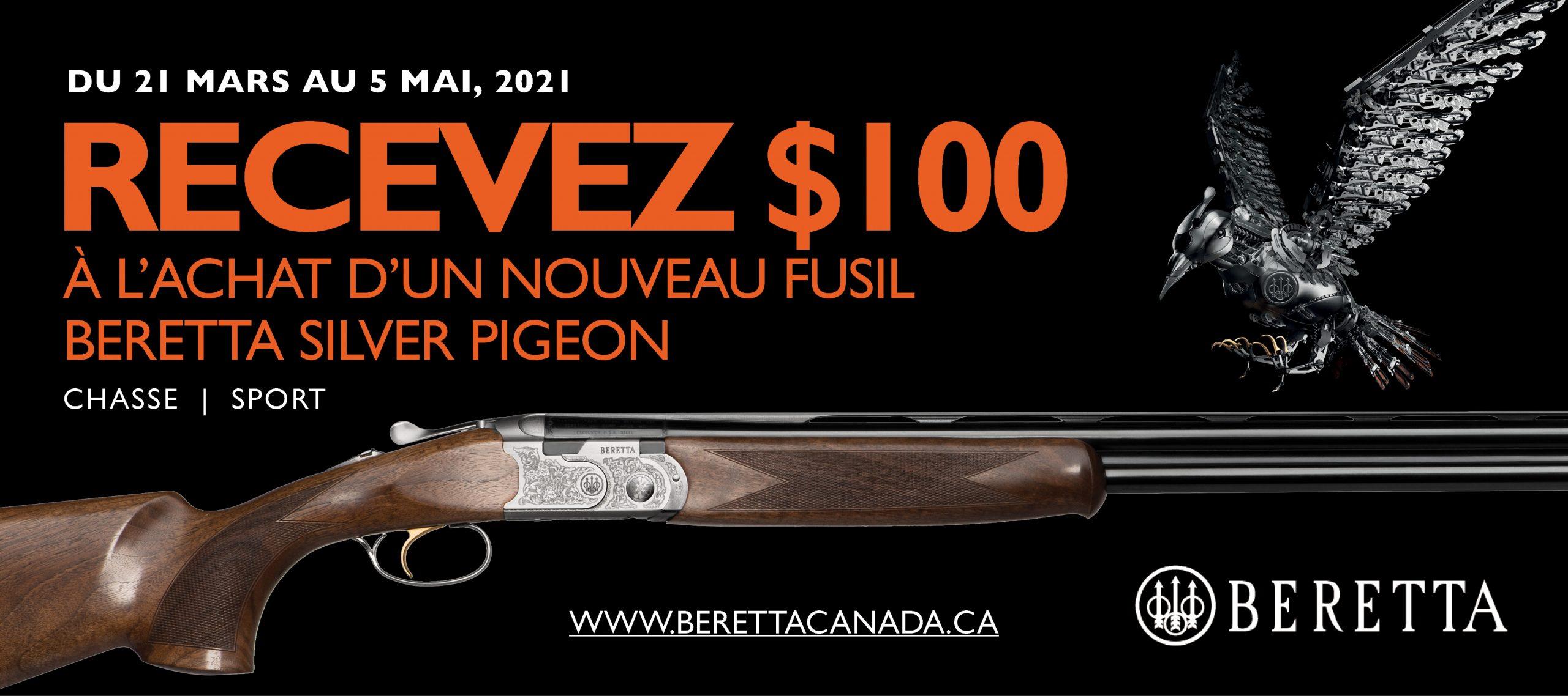 Beretta 100 Off SP Promotion 2021 Banner 400x900 FR