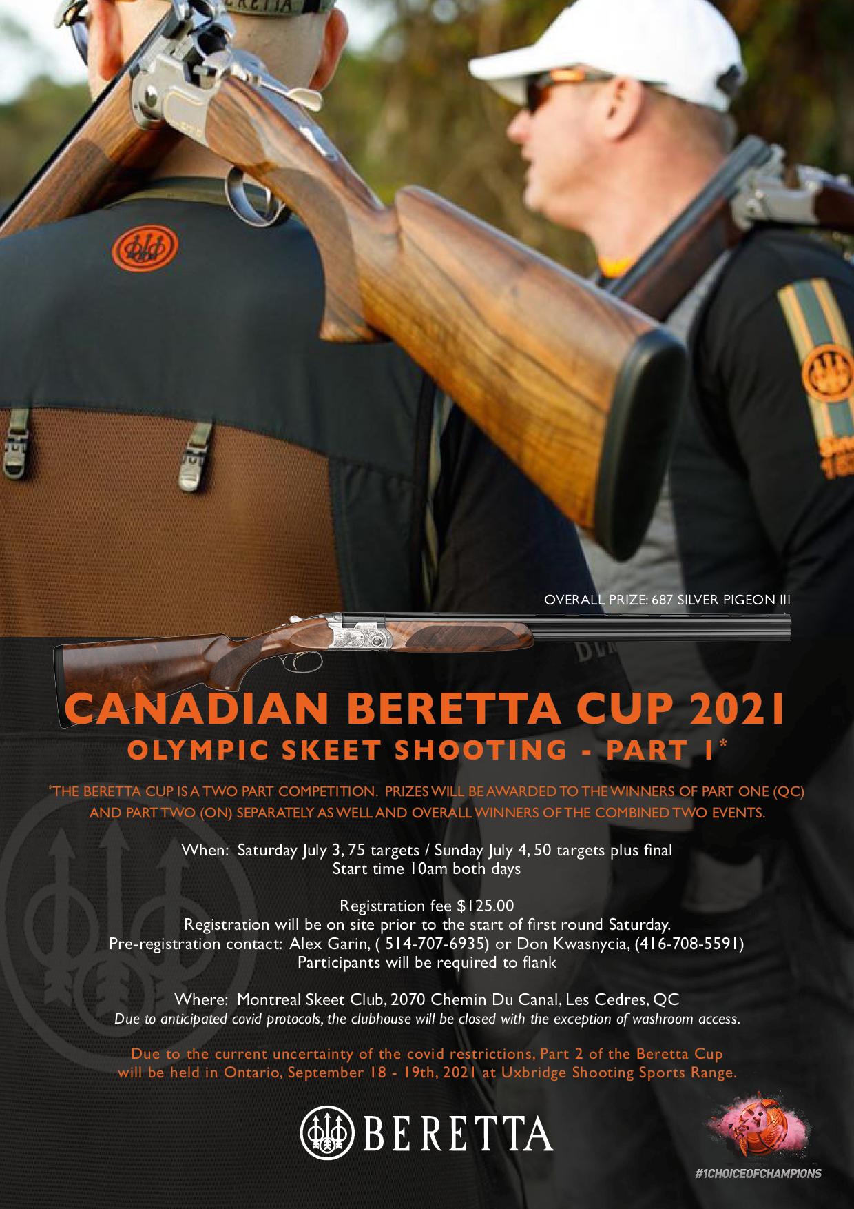 Beretta Canadian Olympic Skeet Cup 2021