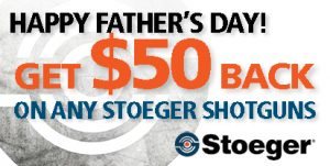 Stoeger Fathers Day Rebate 2021 Box