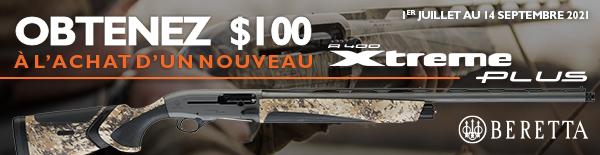 Beretta A400XP 100 Rebate 2021 600x155 Aquatech FR