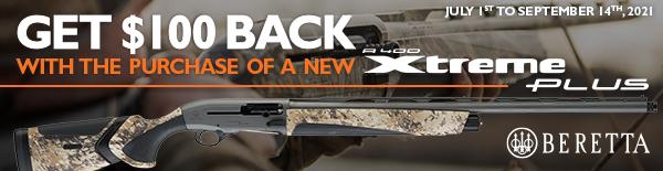 Beretta A400XP 100 Rebate 2021 600x155 Aquatech