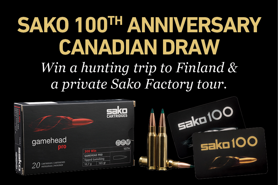 SAKO Ammo Draw Canada Feature Image 450x300