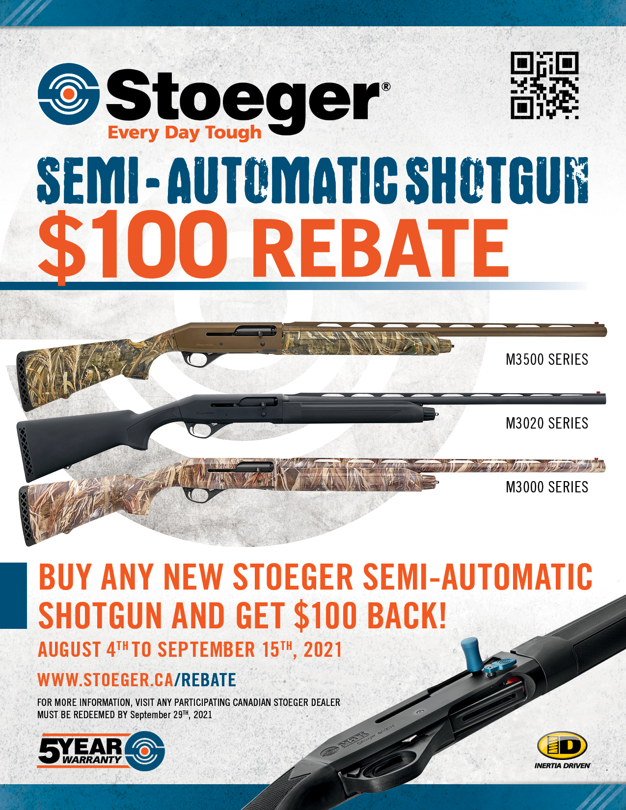 Stoeger 100off Semi Automatic 2021 Poster