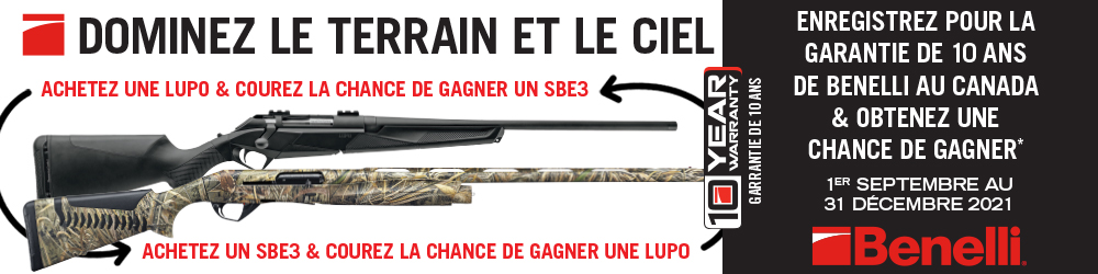 Benelli Lupo And SBE3 Draw FR 1000x250