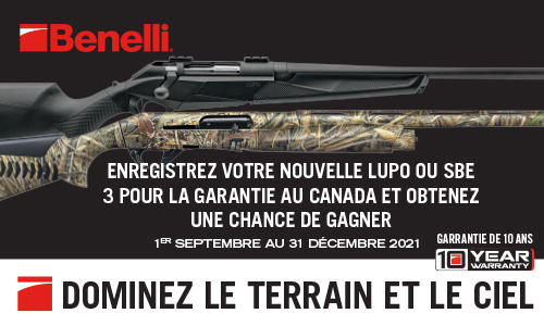 Benelli Lupo And SBE3 Draw FR 500x300